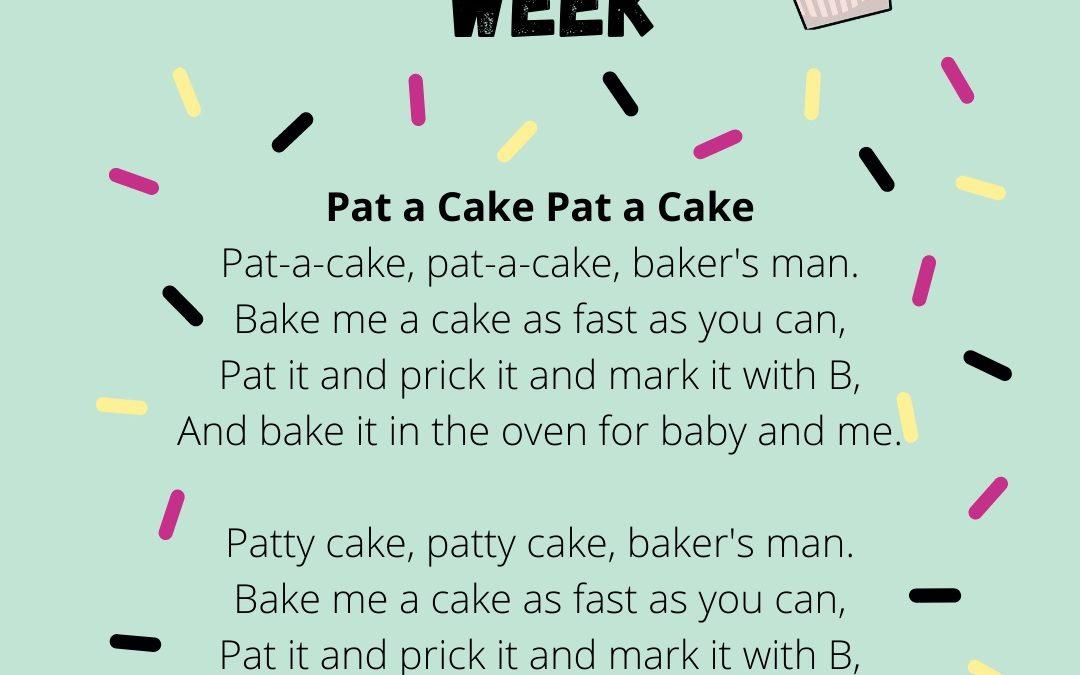 World Nursery Rhyme Week